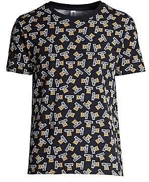 6350e1805116 Moschino Men's Allover Underbear Graphic Tee