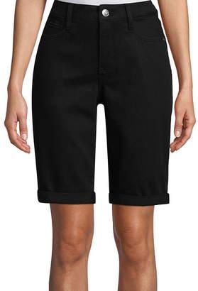 ST. JOHN'S BAY 11 Denim Bermuda Shorts
