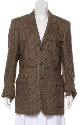Burberry Structured Short Coat