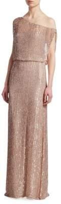 Rachel Gilbert Samarah Sequin Column Gown