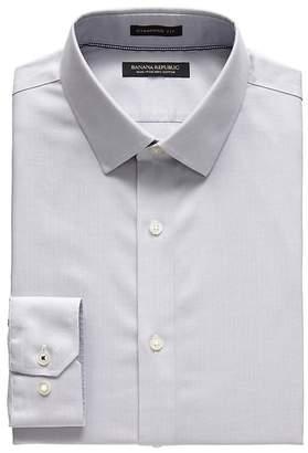 Banana Republic Camden Standard-Fit Non-Iron Herringbone Dress Shirt