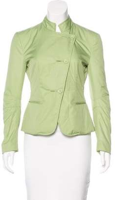 Armani Collezioni Lightweight Button-Up Jacket