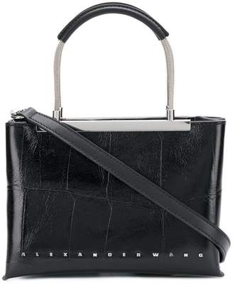 Alexander Wang square embossed crossbody bag