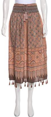 Calypso St. Barth Silk Skirt