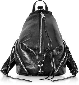 Rebecca Minkoff Black Quilted Nappa Leather Medium Julian Backpack