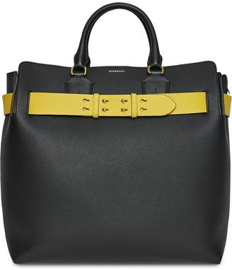 Burberry The Large Leather Belt Bag