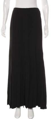 Chanel Pleated Maxi Skirt