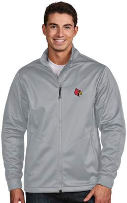 Antigua Men's Louisville Cardinals Waterproof Golf Jacket