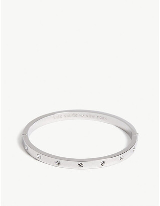 Kate Spade Set In Stone hinged bangle