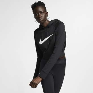 Nike Women's Cropped French Terry Hoodie Sportswear Swoosh