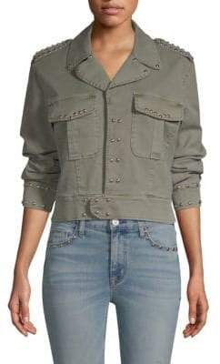 Hudson Jeans Long Sleeve Military Jacket