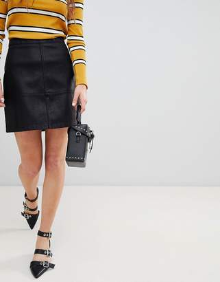 New Look Leather Look Mini