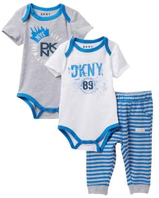 DKNY Downtown Jogger Set (Baby Boys 0-18M)