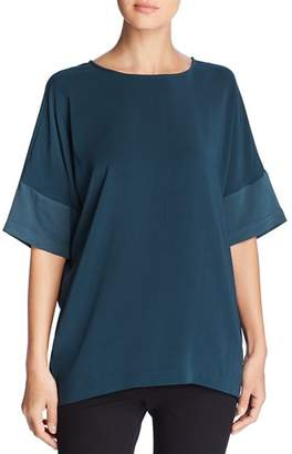 Kenneth Cole Dolman-Sleeve Tunic Top