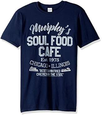 American Classics Blues Brothers Soul Food Cafe Adult Short Sleeve T-Shirt