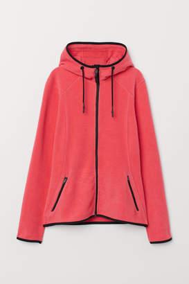 H&M Fleece Outdoor Jacket - Pink