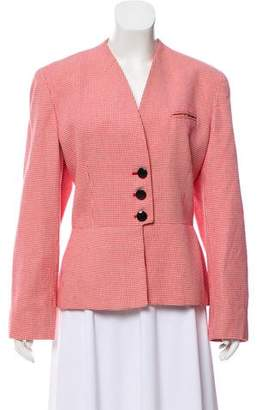 Christian Dior Patterned Button-Up Jacket