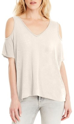 Women's Michael Stars Cold Shoulder Tee $78 thestylecure.com