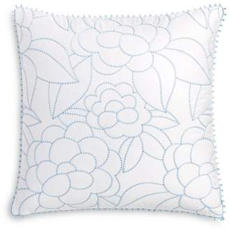 Sky Linear Floral Euro Sham, Pair - 100% Exclusive
