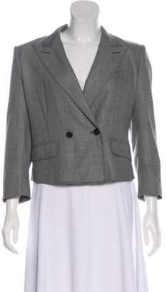 Saint Laurent Wool Long Sleeve Blazer