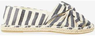 Dorothy Perkins Womens Wide Fit Striped Ciera Espadrille
