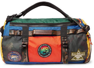Polo Ralph Lauren Appliquéd Colour-Block Nylon Duffle Bag 3cb5ebafd58a9