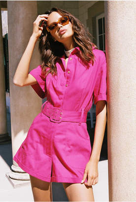 Finders Keepers HELOISE PLAYSUIT fuchsia