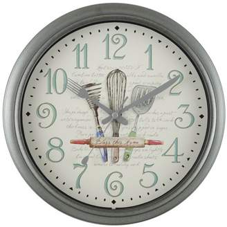 "Mainstays 11.5"" Kitchen Wall Clock"