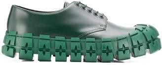 Prada chunky derby shoes