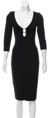 Michael Kors Knit Midi Dress