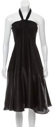 Doo.Ri Strapless Silk Dress