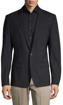 Dolce & Gabbana Stretch Virgin Wool Suit Jacket
