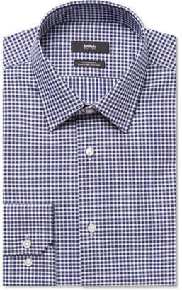 HUGO BOSS Enzo Gingham Cotton-poplin Shirt