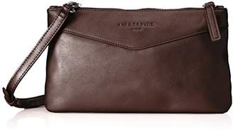 Liebeskind Berlin Cecily Pearl, Women's Cross-Body Bag, Rot (Burgundy), 2x16x28 cm (B x H T)