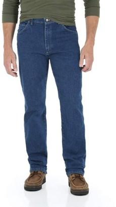 Wrangler Men's Regular Fit Jean with Comfort Flex waistband