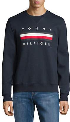 Tommy Hilfiger Global Logo Crew Sweater