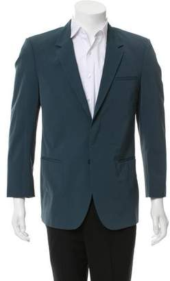 Calvin Klein Collection Notched Lapel Two-Button Blazer