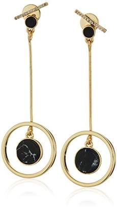Danielle Nicole Foxy Drop Earrings