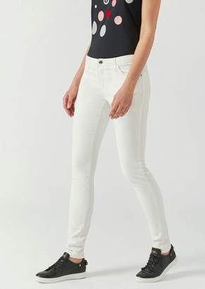 Emporio Armani J28 Stretch Cotton Skinny Jeans
