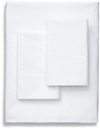 Frette Luxe Percale White Sheet Set