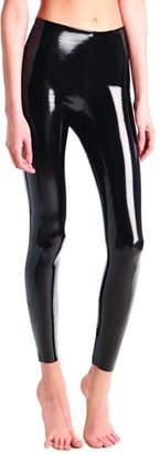 Commando Classic Patent Faux-Leather Firming Leggings