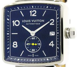 Louis Vuitton Speedy Q263G Stainless Steel Automatic 38mm Mens Watch
