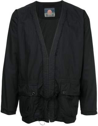 Blackmeans Black Means layered shirt
