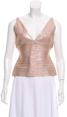 Herve Leger Cassie Sleeveless Top w/ Tags