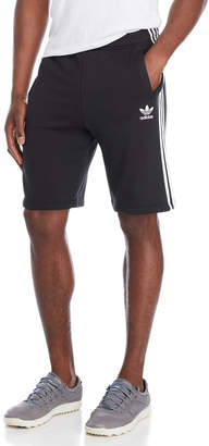 adidas Black French Terry Essential Shorts