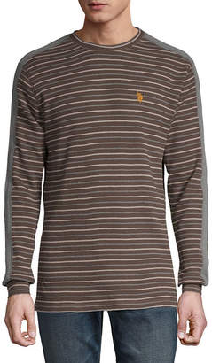 U.S. Polo Assn. USPA Mens Crew Neck Long Sleeve Thermal Top