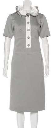 Marc Jacobs Ruffle Midi Dress w/ Tags