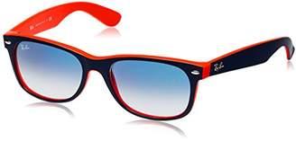 Ray-Ban Men's New Wayfarer Non-Polarized Iridium Square Sunglasses