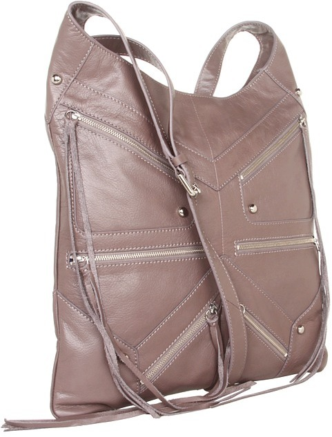 Rebecca Minkoff Love Letters Tri Zip (Lavender) - Bags and Luggage