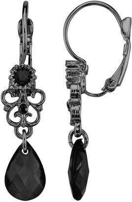 1928 Bead Filigree Drop Earrings
